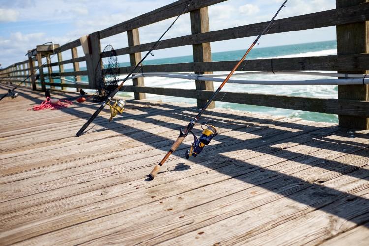 Topsail Island Pier Fishing